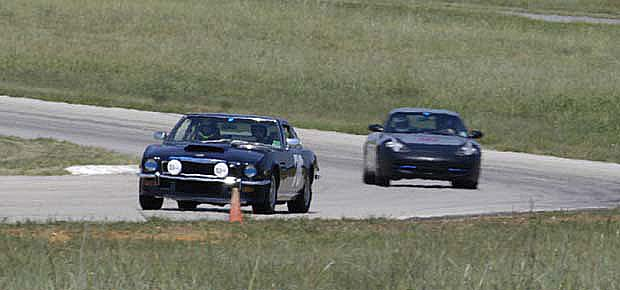 The Driver's Edge - MotorSport Ranch Dallas - 2003 09 - track days Aston Martin V8