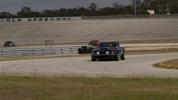 The Driver's Edge - Texas World Speedway - 2003 11 - track days Aston Martin V8